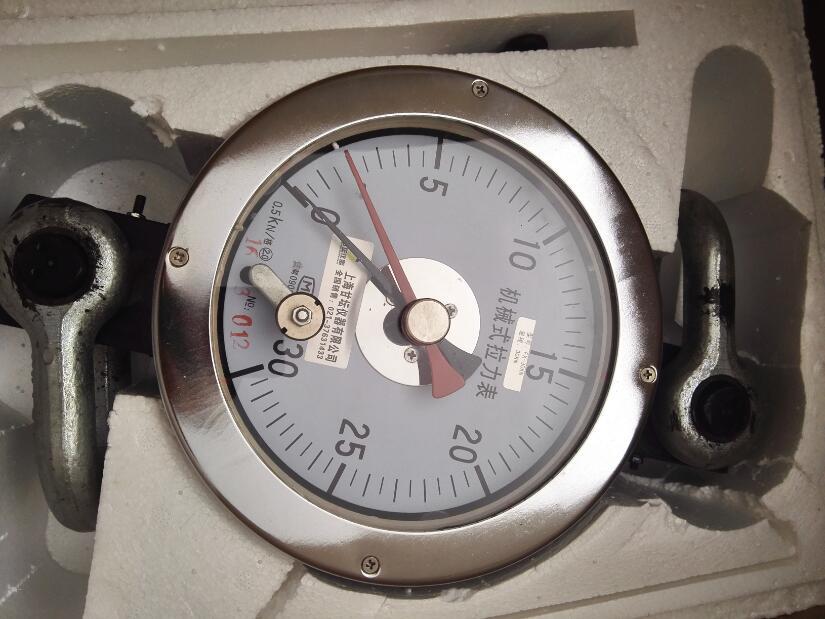 高精度机械式拉力表20KN 2t 油田煤矿测力计
